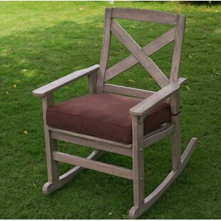 Beachcrest Home Englewood Rocking Chair with Cushions