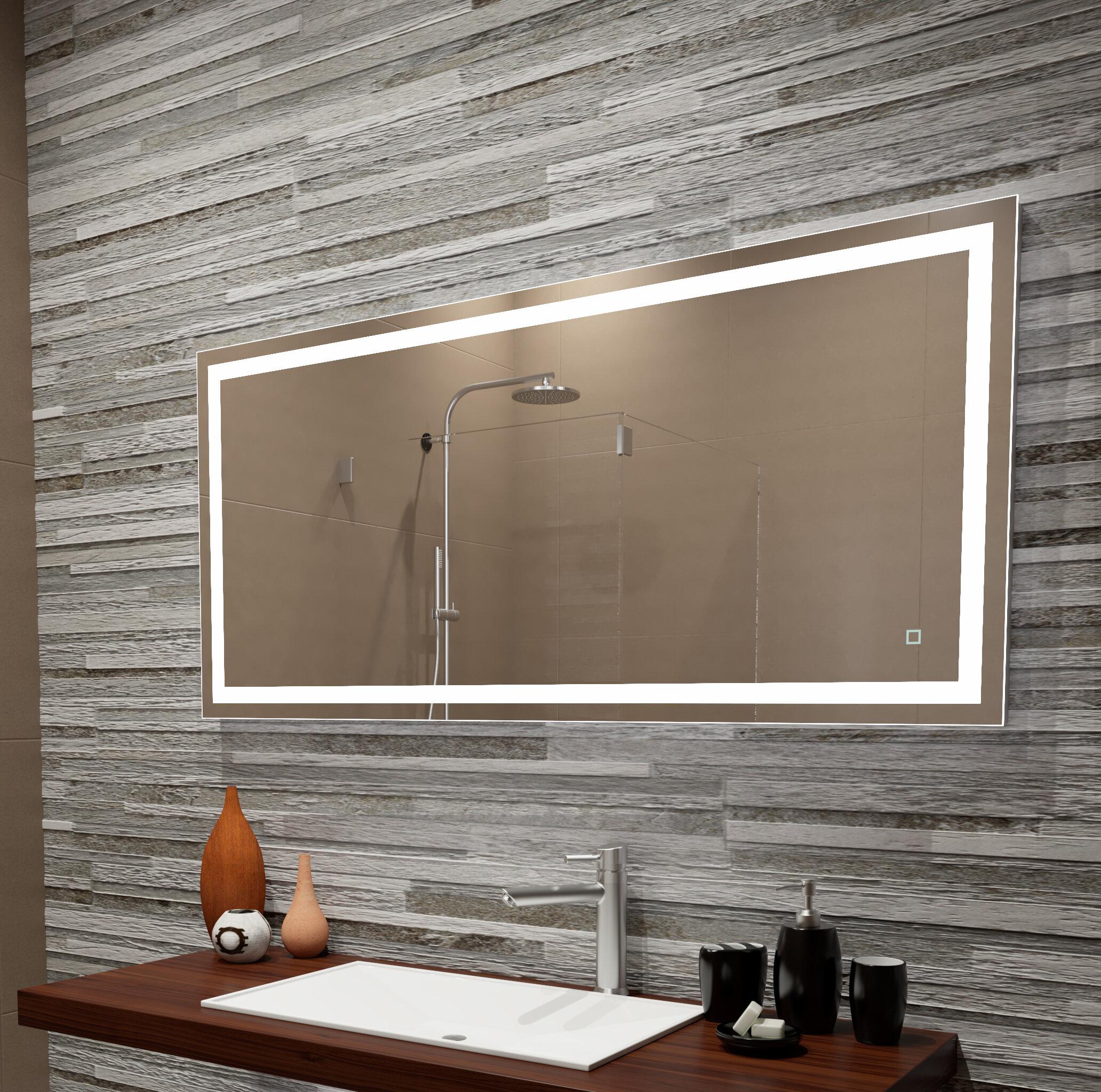 new styles ca22c 07051 Orren Ellis Bolyard Dimmable LED Lighted Bathroom/Vanity ...