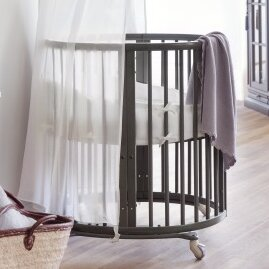 Sleepiu0099 4-in-1 Convertible Mini Crib with Mattress