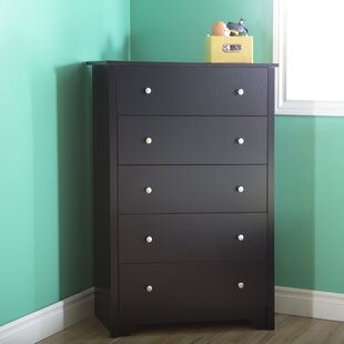 South Shore Vito 5 Drawer Standard Dresser