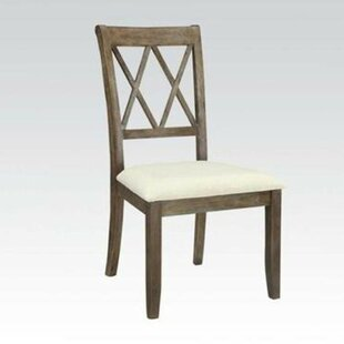 Deborah Solid Wood Dining Chair (Set of 2) Ophelia & Co.