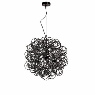 Wade Logan Kash 6-Light Globe Chandelier
