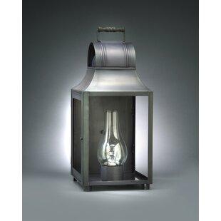 Northeast Lantern Livery 3-Light Outdoor Flush Mount