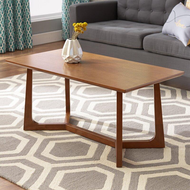 mercury row epsilon indi coffee table & reviews | wayfair