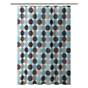 PEVA Circles Design Shower Curtain by Bath Bliss
