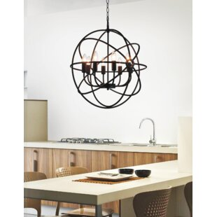 Gracie Oaks Margo 8-Light Candle-Style Chandelier