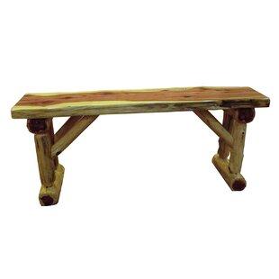 Loon Peak Gorham Cedar Wood Bench