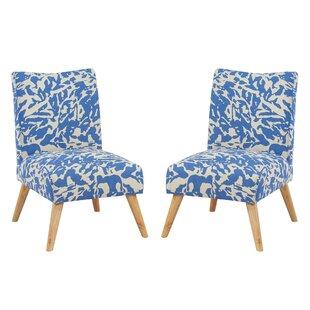 Brayden Studio Nygaard Upholstered Dining Chair (Set of 2)