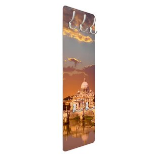Vatican Wall Mounted Coat Rack By Symple Stuff