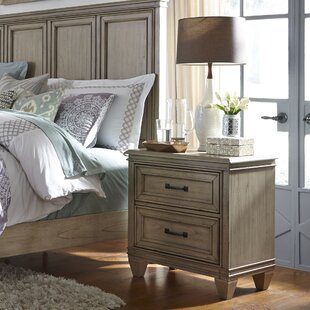 Hazzard 2 Drawer Nightstand by Charlton Home