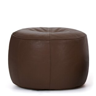 Cogbill Leather Pouffe By Borough Wharf