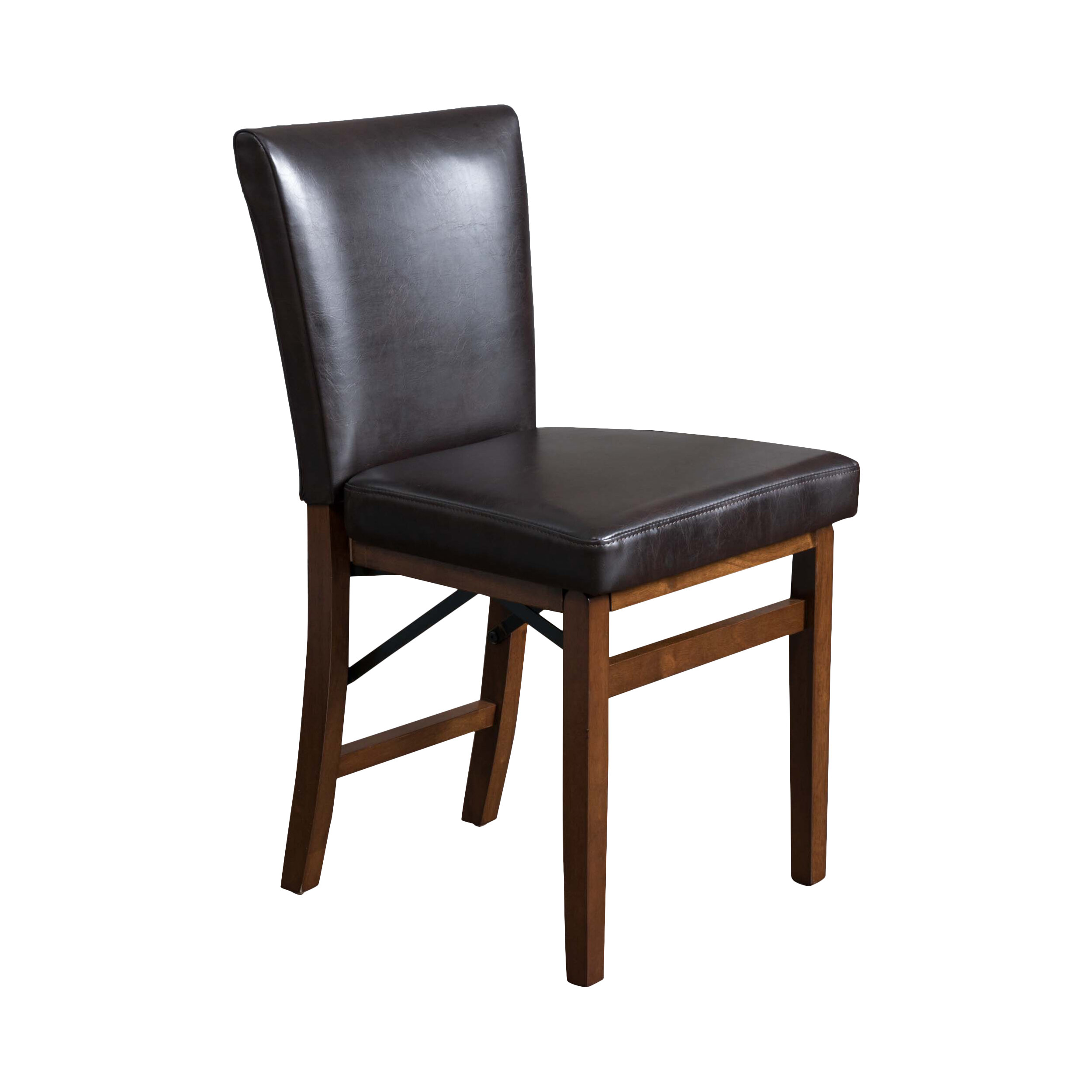 Home Loft Concepts Lane Genuine Leather Upholstered Dining Chair