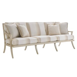Misty Garden Patio Sofa with Cushions