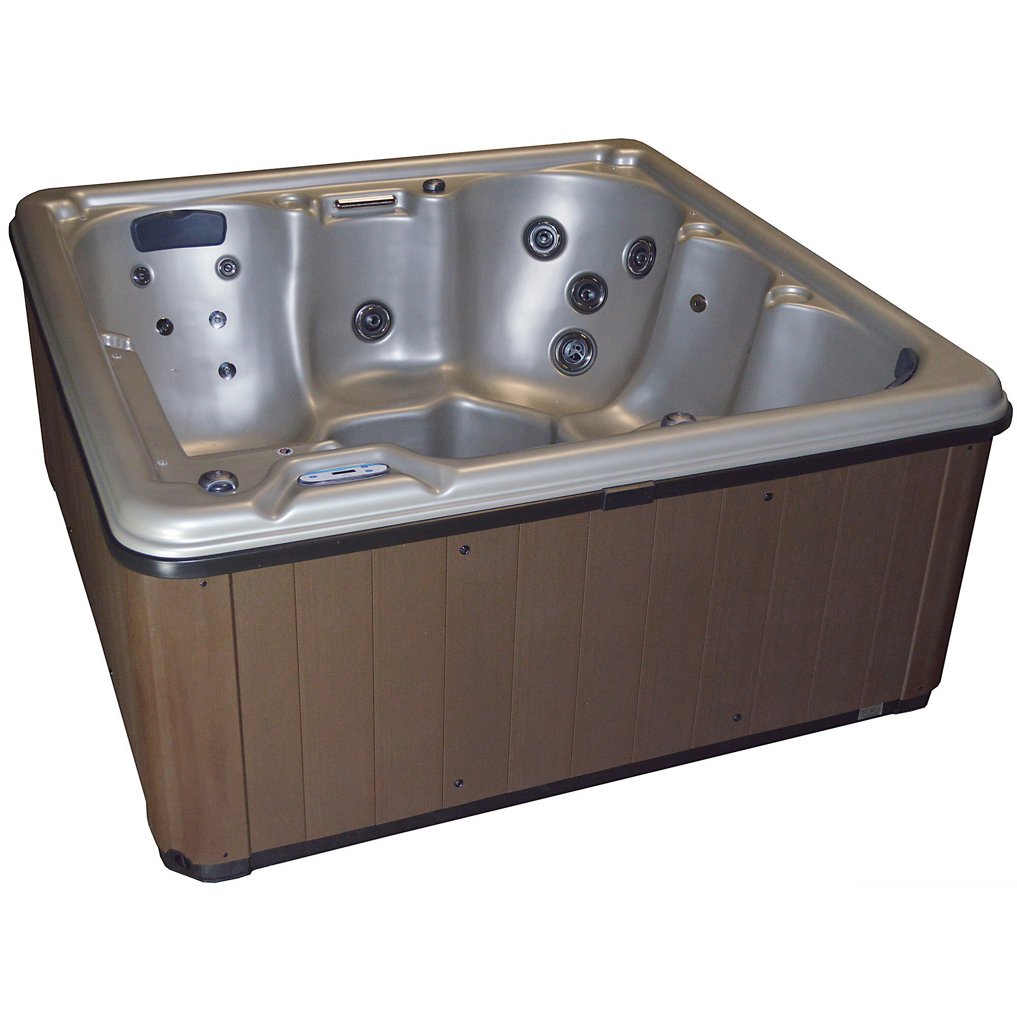 Cyannavalleyspas 6 Person 31 Jet Hot Tub With Dual Pump And Lounger Reviews