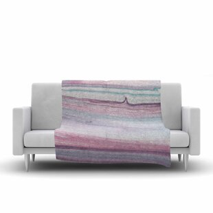 Reviews Mmartabc Painting Lines Multicolor Painting Fleece Blanket ByEast Urban Home