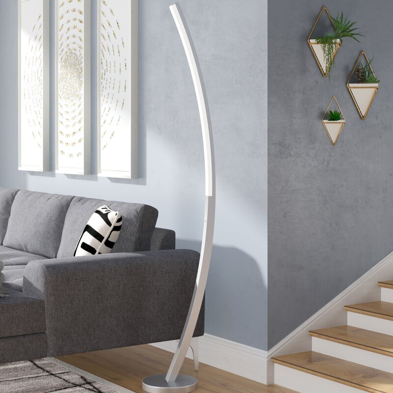 Aakash 70 Led Arched Floor Lamp