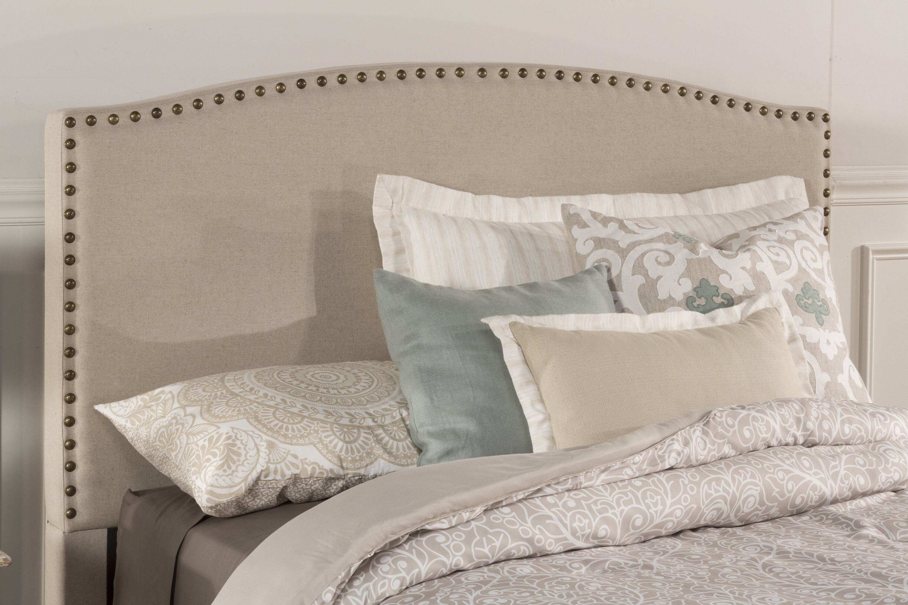 nailhead photos for upholstered diamond furniture queen wonderful ideas bedroom skyline tufted wing linen nail hayneedle stowmarket button hampton full wingback trim of house amazing image decor headboard