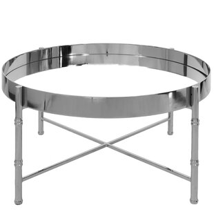Worlds Away Coffee Table with Tray Top