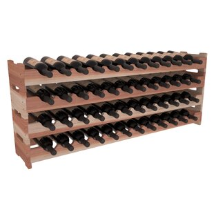 Karnes Redwood Scalloped 48 Bottle Tablet..