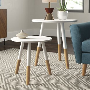 Coulson Round 2 Piece Coffee Table Set