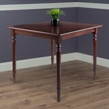 Maud Solid Wood Dining Table by Rosalind Wheeler