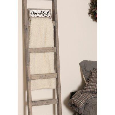BrandtWorksLLC 6 ft Blanket Ladder Color: Weathered Gray