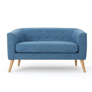 Authentic Fabric Loveseat by Turn on the Brights