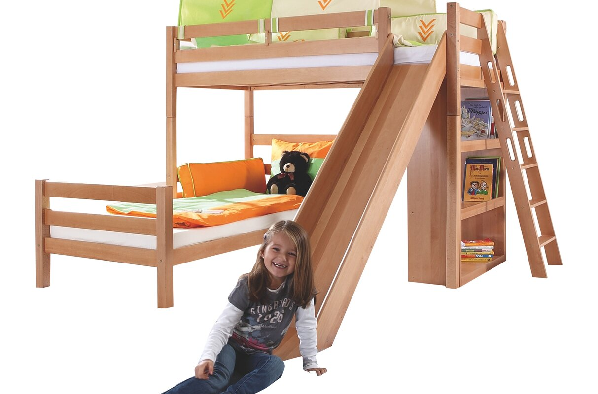relita etagenbett sky mit rutsche bewertungen. Black Bedroom Furniture Sets. Home Design Ideas