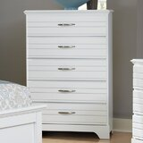 Della 5 Drawer Chest by August Grove®