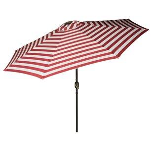 Brayden Studio Gorman 9' Lighted Umbrella