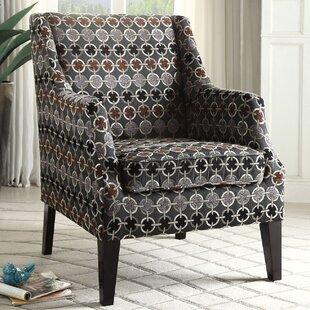 Ebern Designs Saavedra Wing back Chair