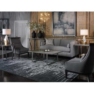 Clian Architectural 3 Piece Coffee Table Set
