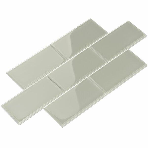 Giorbello Subway 3 X 6 Glass Tile Reviews Wayfair