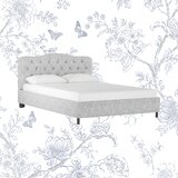 Melissa Upholstered Platform Bed by Kelly Clarkson Home