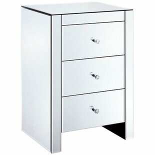 Ewing 3 Drawer Nightstand