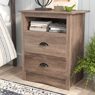 Laurel Foundry Modern Farmhouse June 2 Drawer Nightstand