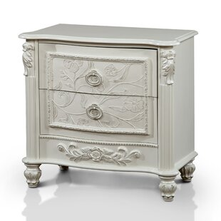 Affordable Dawn 2 Drawer Nightstand by Viv + Rae Reviews (2019) & Buyer's Guide