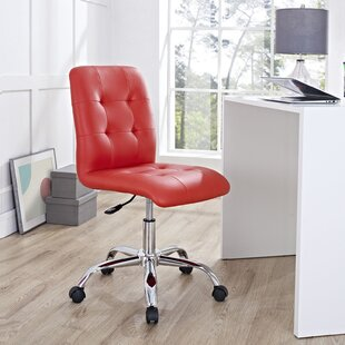 Red Swivel Office Chair | Wayfair