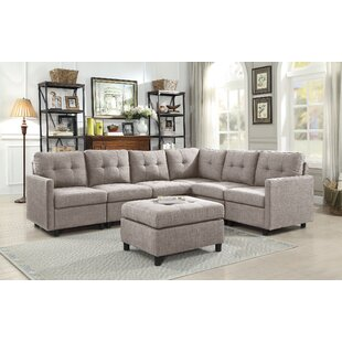 Brayden Studio Scout Modular Sectional with Ottoman