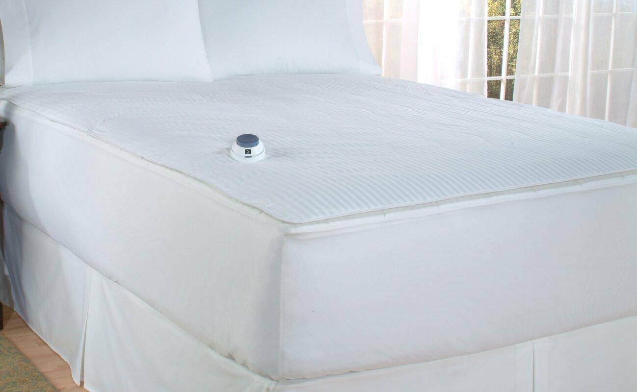 "Soft Heat 0.5"" Polyester Heated Mattress Pad"