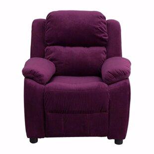 Best Heise Deluxe Heavily Padded Kids Chair ByZoomie Kids