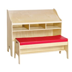 Classroom Furniture 42 W Desk with Bench by Guidecraft