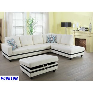 Small White Sectional Sofa | Wayfair
