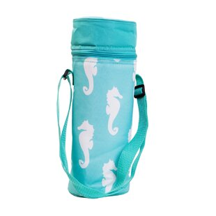 Insulated Seahorse Wine Tote