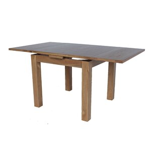 Badalamenti Square Extendable Solid Wood Dining Table by Loon Peak