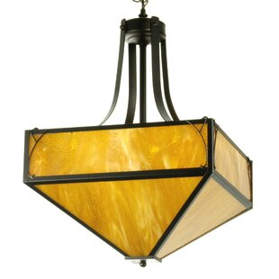 Loon Peak Hanford 4-Light Bowl Pendant