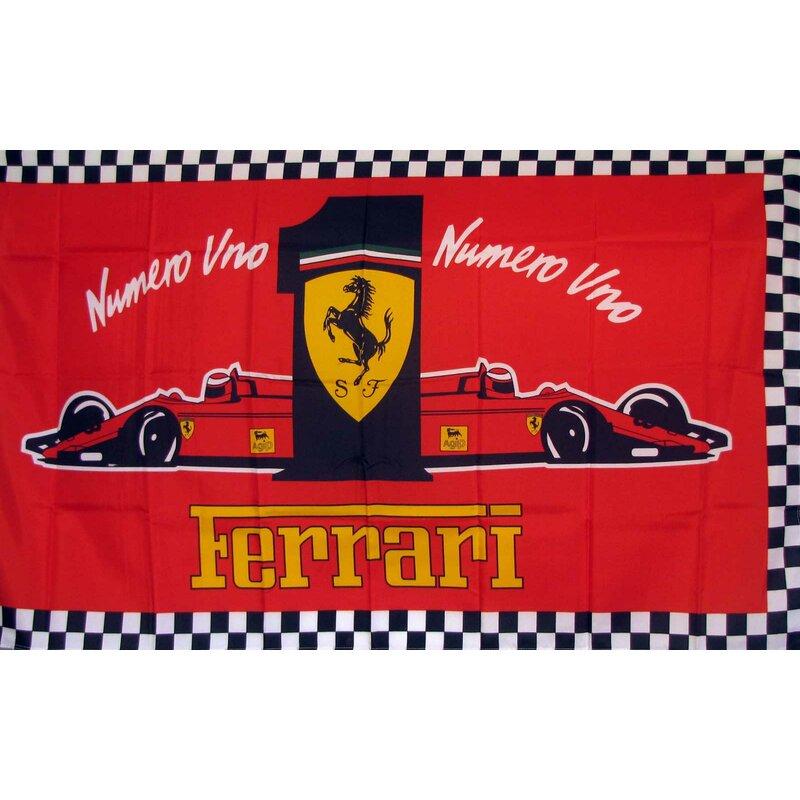 Neoplex Ferrari 1 Traditional Flag Wayfair