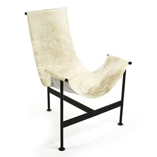 Foundry Select Cutler Hide Sling Side Chair