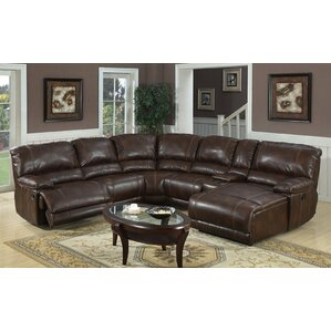 Ethan Reclining Sectional  sc 1 st  Wayfair & Reclining Sectionals Youu0027ll Love | Wayfair islam-shia.org