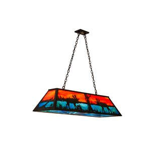 Meyda Tiffany Greenbriar Oak 9-Light Pendant